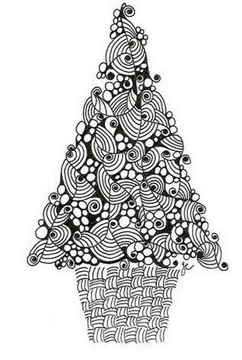 Coloriage Adulte Noel by Coloriage Adulte Noel Sapin De No 235 L 4