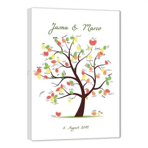 Hochzeit Fingerabdruck by Fingerabdruck Baum Hochzeitsspiele