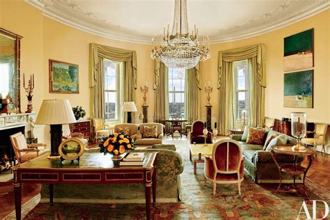 the white house interior look inside the obamas stylish white house home nbc news