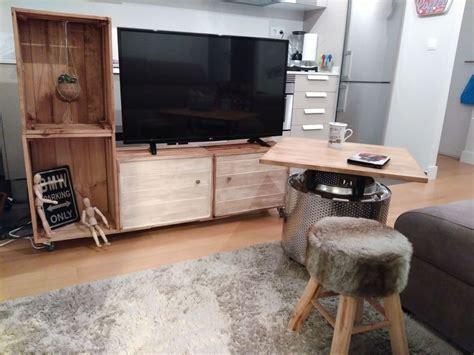 mueble con caja de frutas 191 c 243 mo hacer un mueble para la tv con cajas de fruta
