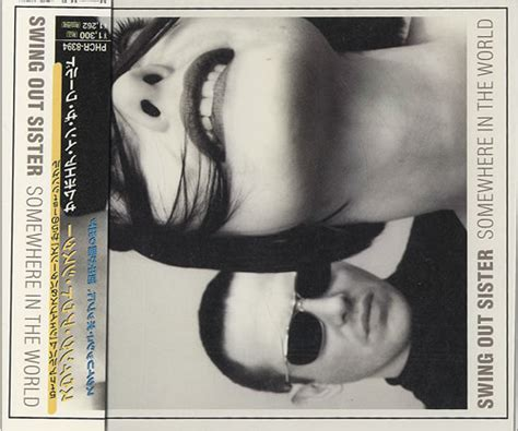 swing out sister somewhere in the world swing out sister somewhere in the world japan cd single