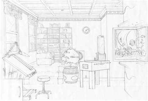 homework one point perspective room drawing room one point perspective by artrelegis on deviantart