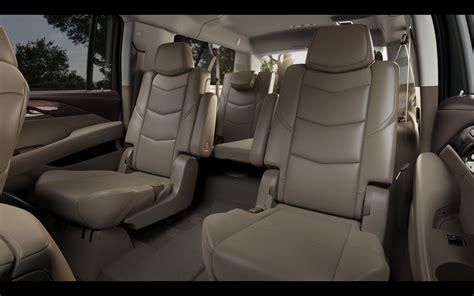 Cadillac Escalade 2015 Interior by 2015 Cadillac Escalade Interior Seating 1 2560x1600