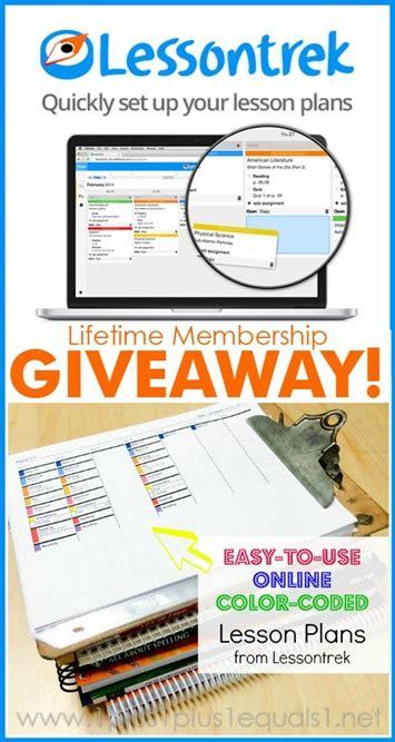 Planner Giveaway - lessontrek homeschool planner giveaway and discount code 1 1 1 1