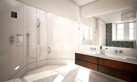 sleek bathroom design how to take advantage of floating vanities to make