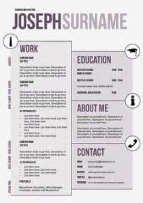 Innovative Resume Formats by 1000 Images About Some Innovative Cvs On Resume Creative Resume And Creative