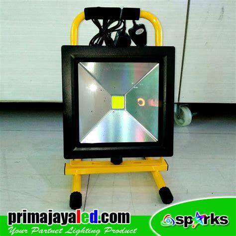 Senter Kepala Surya 30w Sj0021 jual lu emergency charger led floodlight 30w harga