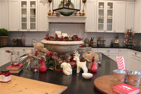 Decorations On Top Of Kitchen Cabinets christmas decor the kitchen amp a secret