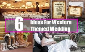 For western themed wedding how to plan a country western wedding
