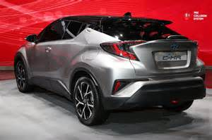 toyota c hr debut at geneva motor show the fast