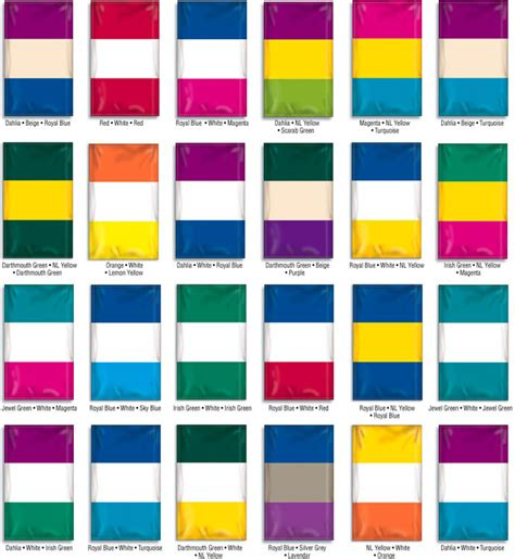 color combinations nylon flag color combination sles art pinterest