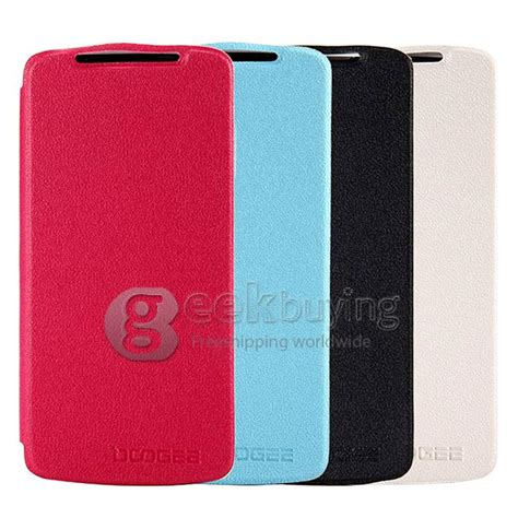 Ipearl New Leather With Stand Pink 1 brand new protective cover flip stand leather for doogee dg330