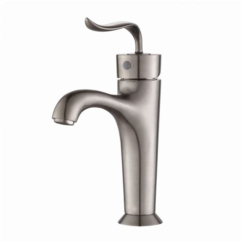 kraus bathroom faucet kraus coda single hole single handle basin bathroom faucet