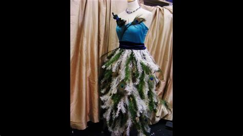 how to make a christmas tree dress by oxfam gateshead
