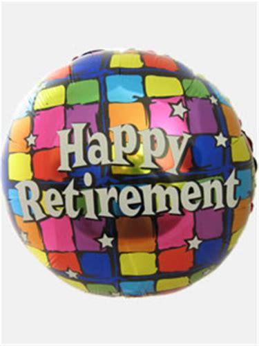 Happy Retirement Helium Balloon  Ee  Gift Ee   Next Day Delivery