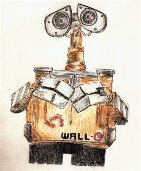 Wall E Sketches by Wall E Drawing