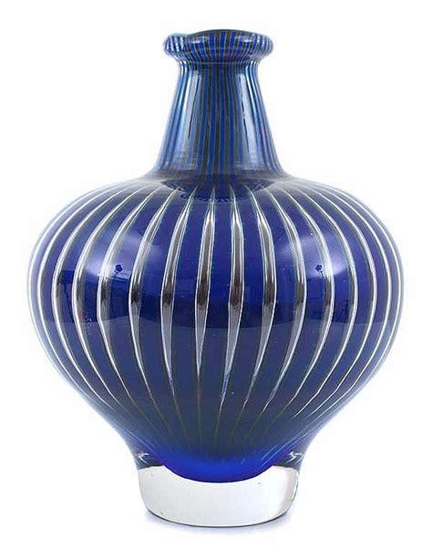 Orrefors Ariel Vase by A Blue Orrefors Ariel Vase By E 226 166 Hrstr 226 Eu By Leonard