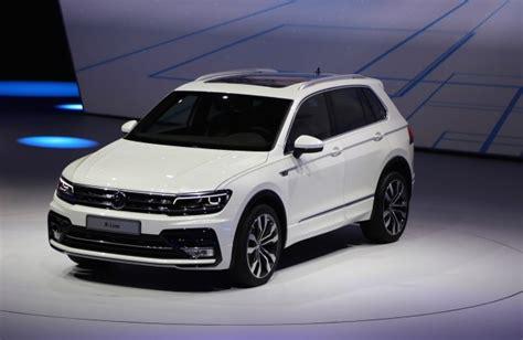 Vw Auto Frankfurt by New Volkswagen Tiguan Unveiled At 2015 Frankfurt Auto Show