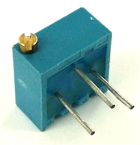 variable resistor 1m ohm 1m ohm trimpot variable resistor pot3106p 1 105 3106p 1 105 west florida components
