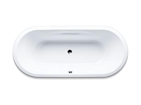 vasca ovale vasca da bagno ovale in acciaio da incasso vaio duo