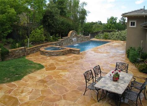 Patio Pools by 24 Amazing Sted Concrete Patio Design Ideas