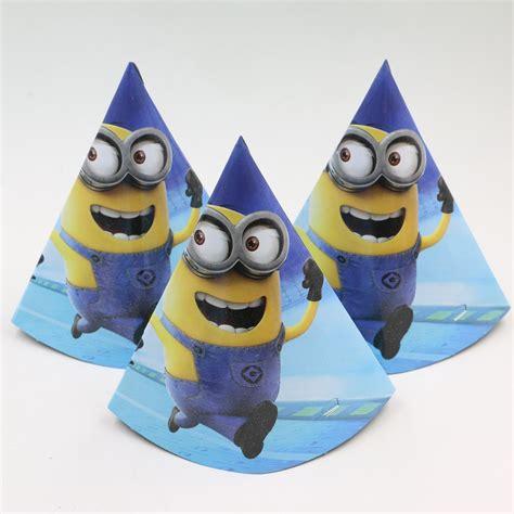 Birthday Cap 10 Pcs minion style hats 10 pcs lot