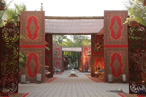 Kitchen Craft Ahmedabad A Kashmir Themed Mehendi By Prasang Events And