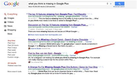 How To Search On Plus Plus Posts Showing Up In Serps Now To Rank Them