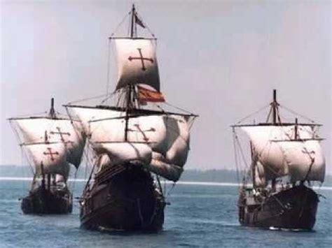 los barcos de cristobal colon navegante de estrellas cancion de cristobal colon