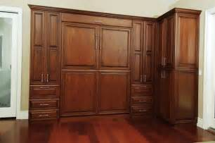 bedroom wall cabinets custom stained cherry wall bed traditional bedroom