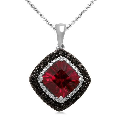 Ruby Jewelry by Extraordinary Ruby With Black Diamonds Absolutely