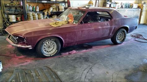 color sand and buff color sand and buff 1969 ford mustang restoration part 64