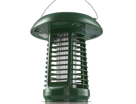 solar power bug zapper light solar powered uv bug zapper led garden l 187 gadget flow
