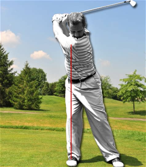 swaying golf swing golf instruction hip swaying and reverse pivoting