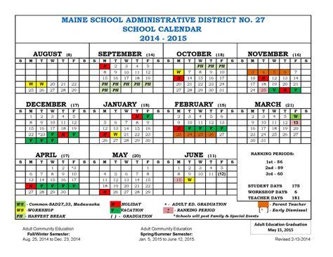 2014 school calendar template 2014 school calendar template eliolera