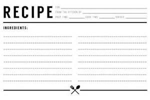 キッチンの味方 家庭の味を記録するオリジナルレシピカードを作ろう インスピ