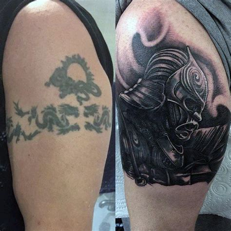 cover up tattoos for men 60 cover up ideas for before and after designs