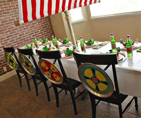viking themed events kara s party ideas viking dragon themed birthday party