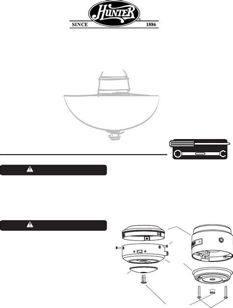 hunter ceiling fan manual hunter fan fan ceiling fan light kits user guide