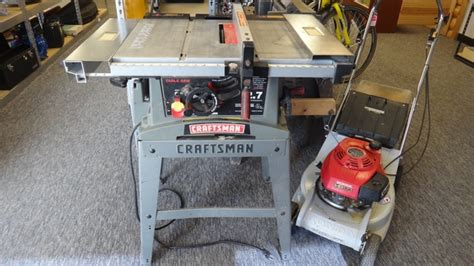 craftsman table saw 137 248481 craftsman 10 quot table saw rainbow classifieds