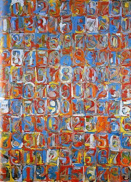 johns colors jasper johns quot numbers in color quot 1959