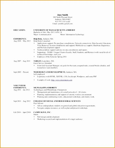 7 information technology resume templates free sles
