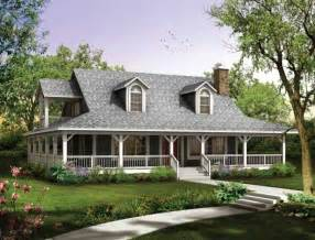 House Plans Wrap Around Porch Choosing Country House Plans With Wrap Around Porch