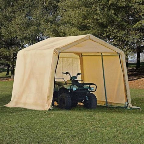 outdoor storage tent shed