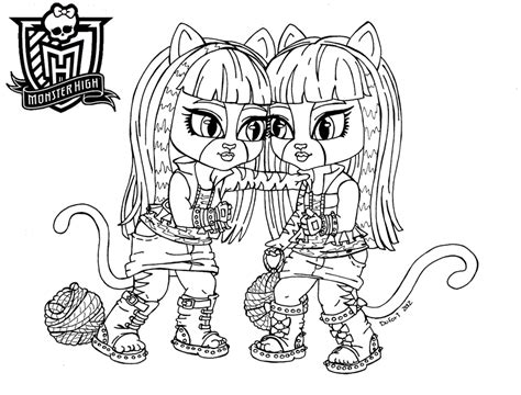 monster high baby coloring pages to print all about monster high dolls baby monster high character