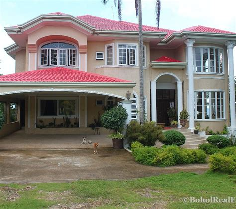 house design sles philippines 5 bed 7 bath resort house for sale dauis panglao bohol