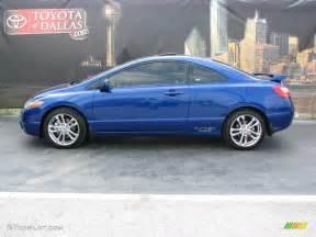 Honda Civic Blue Honda Civic Coupe 2006 Blue Image 50