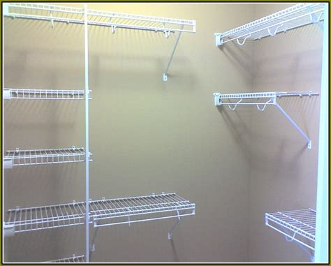 Wire Shelving Closet Design Walk In Closet Wire Shelving Home Design Ideas