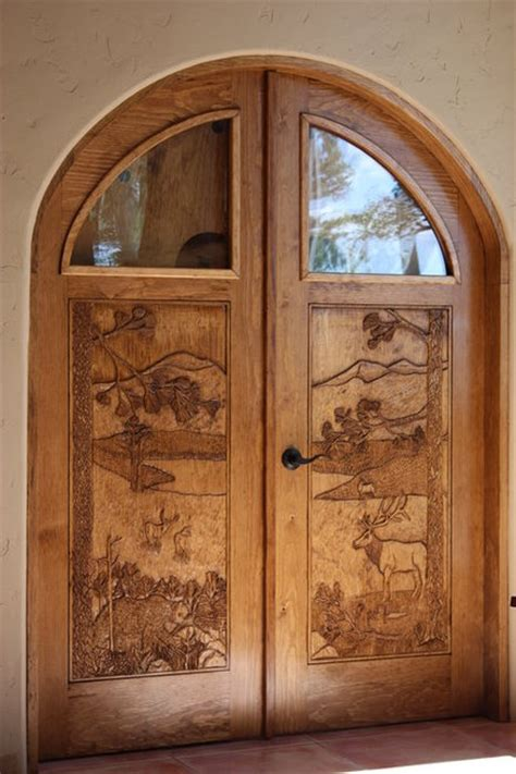 Arched Top Interior Doors - arched top interior door pair by petetree lumberjocks