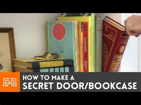 Hidden Bookcase Door Plans How To Make A Secret Door Bookcase Youtube